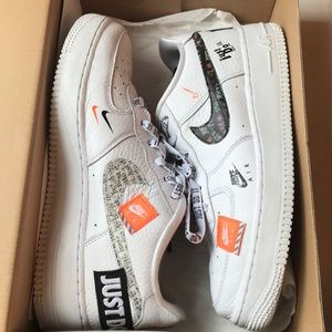 Air Force 1 Low Just Do It Pack White (GS)